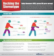 infographics from the career network by beyond according to a beyond com survey baby boomers need to show hr pros that they re willing to learn are tech savvy and innovative employees
