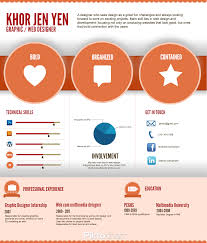 infographics infographic resume by khor jen jen business i design these things that s mine to the left in it was one of the first non designer infographically based resumes the month after i made this fo