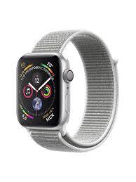 <b>Ремешок</b> Evelyn <b>Nylon</b> для <b>Apple</b> Watch 42/44мм Silver santa ...