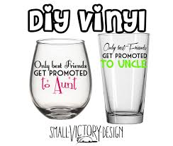 only best friends get promoted to aunt or uncle decal diy 128270zoom