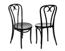 earliest models black bentwood chairs