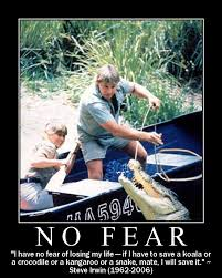 Steve Irwin truly showed no fear ... - a photo on Flickriver