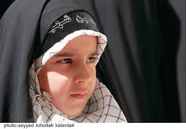 الگوی حجاب در کلام - حریم آسمانی - harimeasmani.ir