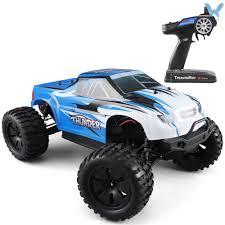 <b>JJRC Q48</b> Thunder RC <b>Big Foot</b> Truck 2.4GHz 4WD 1/10 Brushless ...