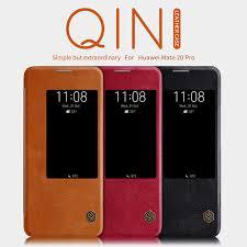 <b>Nillkin Qin</b> Series <b>Leather</b> case for Huawei Mate 20 Pro