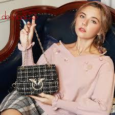 <b>Woman 2019</b> New Pattern <b>Spring</b> Woolen Cloth Bees Package ...