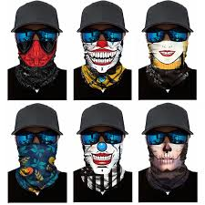 Hallowmas Festival <b>Skull Mask Skeleton</b> Magic <b>Bicycle Ski</b> ...