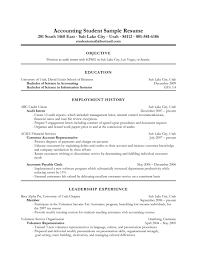 Accounting Resume Objective  resume template accounting resume