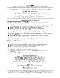 best resume distribution   job resume vs cvbest resume distribution distribution manager example resume examplesof warehouse manager resume