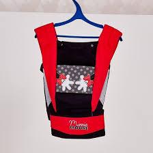 <b>Рюкзак</b>-<b>кенгуру Polini kids Disney</b> baby Минни Маус с вышивкой ...
