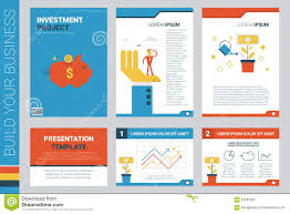 investment project book cover and presentation template stock investment project book cover and presentation template