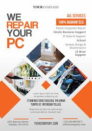 pc repair a5 promotional flyer premadevideos com a5 flyer pc repair a5 promotional flyer premadevideos com a5