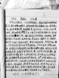 china childrens essay goes viral   business insider weibo china essay