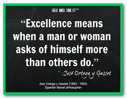 """Image result for caricature of man of """"excellence."""""""