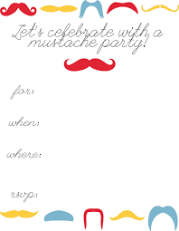 lovely mustache party invitations printable birthday party georgious mustache birthday party invitations templates middot tasty printable