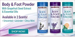 NutriBiotic <b>Body & Foot Powder</b>