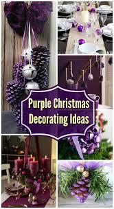 35 Breathtaking <b>Purple</b> Christmas <b>Decorations</b> Ideas – All About ...