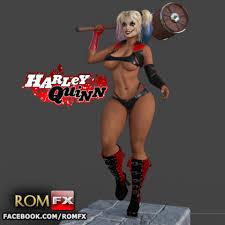 Download 3D <b>printing</b> designs <b>Harley Quinn</b> Sexy 3D Printable ...