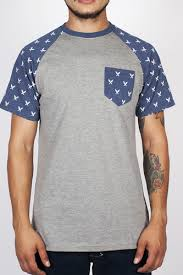 <b>Футболка TURBOKOLOR Torch Pocket</b> SS14 (Grey-Navy-Heather ...