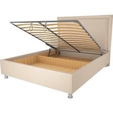 <b>Кровать OrthoSleep Нью-Йорк бисквит</b> механизм и ящик 120х200 ...