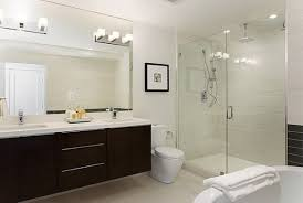 elegant bathroom interior design with bathroom vanity lighting of modern wall lamps decoration above mirror lighting bathrooms