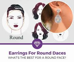 Top 5 Best <b>Earrings</b> for a Round Face (2019 Review) - Learning ...