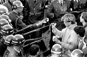 「The Kent State shootings come to symbolize the sharp political and social differences dividing Americans during the Vietnam War.」の画像検索結果