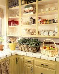 fruit basket organize kitchen countertops