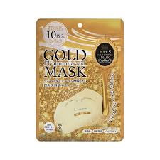 <b>JAPAN GALS</b> Pure Five Gold Essence Hyaluronan 10 Masks - Made ...