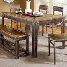 Farm Style Dining Room Tables Modus Furniture 5m4761 Farmhouse Dining Table Atg Stores Farm