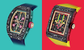 """Richard Mille Colorful <b>Candy</b>-Inspired """"Bonbon"""" Timepieces"""