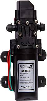 Earth <b>12v High Power</b> Electric Auto Diaphragm Water Pump 100 PSI ...