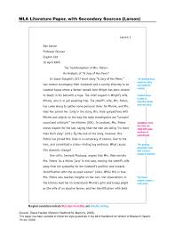 examples of literary analysis essays literary analysis papers  examples of literary essay literary essay th grade literary essay examples middle school literary essay sample