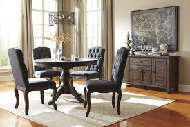 Pine Dining Room Chairs Signature Design By Ashley Trudell Solid Wood Pine Dining Room