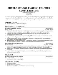 resume objectives teachers aide sample teacher resumes special how example teacher resume sample resume format for teachers how to write resume for english teacher job