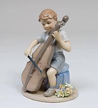 "<b>Фигурка</b> ""Мальчик с виолончелью"" (<b>Pavone</b>)"