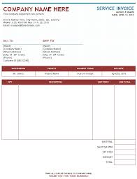 sample service invoice service invoices invoice templates sample service invoice template