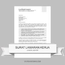 junior lawyer contoh curriculum vitae junior lawyer