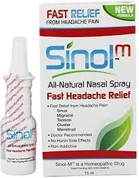 Sinol-M Fast Headache Relief Nasal Spray 15ML ... - Amazon.com