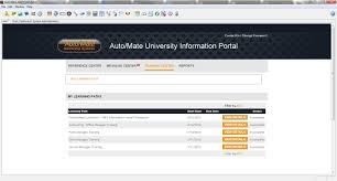 how does auto mate university work auto mate we ve designed learning paths for each and every role in a dealership that will help employees onboard efficiently