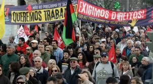 Resultado de imagem para fotos dos protestos em portugal