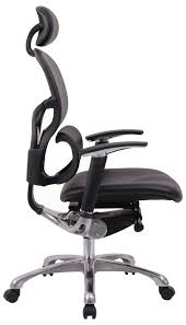 wave ergonomic leather office chair with headrest loaded with adjustable features to ensure a perfect fit 24 hours a day bedroomattractive big tall office chairs furniture
