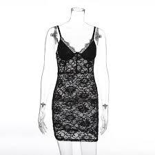 <b>2019 Sexy Mousse 2019</b> Spring <b>New</b> Ladies <b>Sexy</b> Strap Lace Skirt ...