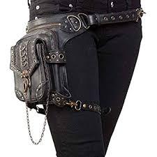 FELCIA <b>Steampunk Bag</b>,Waist Bag/Shoulder Bag/Vintage Leather ...