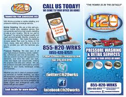 h works pressure washing and detail co branding campaign website draft