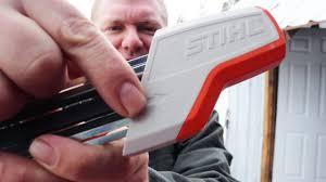 STUPID-EASY Chainsaw Sharpener! (Ladies, Kids, Everyone will ...
