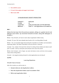 Format for application letter to the principal Dachis Photography