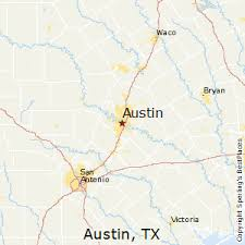best places to live in austin texas austin texas map