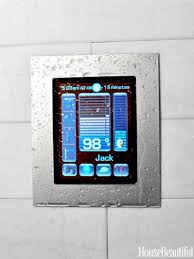 shower radio review guide x: personalize shower time with this tablet like full color digital touch screen
