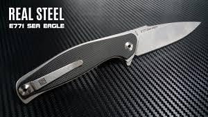 Обзор <b>ножа Real Steel</b> E771 Sea Eagle. Джентельменский орлан ...